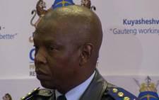 Gauteng Provincial Police Commissioner Mzwandile Petros.  Picture: Christa van der Walt/EWN.