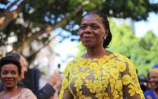 Public Protector Thuli Madonsela on the Sona red carpet on 11 February 2016. Picture: Aletta Harrison/EWN.