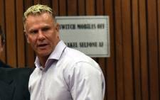 FILE: Mark Batchelor at the murder trial of Paralympian athlete Oscar Pistorius in Pretoria on 8 April 2014. Picture: AFP