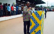 Gabonese opposition candidate Jean Ping declared himself president on 2 September 2016. Picture: Facebook.