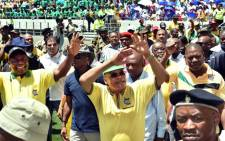 FILE: President Zuma addresses crowds at the 103rd ANC Anniversary at Cape Town Stadium on 10 January 2014. Picture: GCIS.