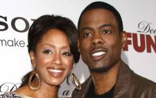 Comedian Chris Rock and his wife Malaak Compton-Rock. Picture: Official Chris Rock Facebook page.