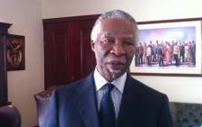 South African former president, Thabo Mbeki. Picture: EWN