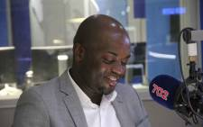 FILE: City of Tshwane Mayor Solly Msimanga during an interview on Talk Radio 702. Picture: Talk Radio 702.