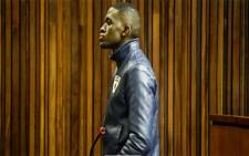 Sandile Mantsoe hears his fate in the High Court. Picture: Kayleen Morgan/EWN