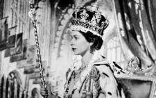 Queen Elizabeth II on her Coronation day in 1953 in London. Picture: AFP.