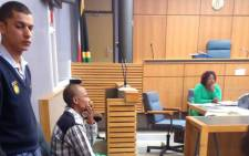 Elmario Maasdorp was sentenced to 23 years in jail in the Blue Downs Regional Court on 2 February 2016. Picture: Shamiela Fisher/EWN.