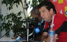 Ajax Cape Town coach Jan Pruijn. Picture: Alicia Pillay/EWN