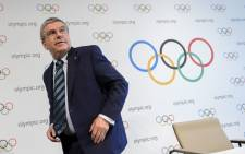 FILE: International Olympic Committee (IOC) president Thomas Bach. Picture: AFP