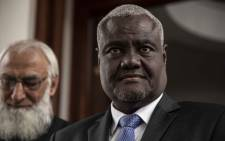 FILE: AU Commission chair Moussa Faki Mahamat. Picture: Abigail Javier/EWN