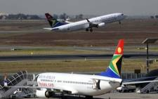 FILE: SAA says it has no reason to cancel its West Africa flights despite the region battling what has been described as the worst outbreak of the Ebola virus in human history. Picture: AFP.