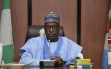Niger state governor Sani Bello. Picture: @NigerStateNG/Twitter