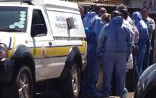 The little girls' mutilated bodies were discovered dumped inside a communal toilet on Tuesday by a community member. Picture: Lesego Ngobeni/EWN