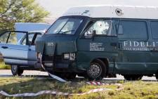 FILE: Authorities shot dead four suspects and arrested 12 more in connection with a foiled cash-in-transit robbery in Bloemfontein.Picture: Sapa.