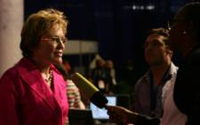 Democratic Alliance leader Helen Zille at the National Results Centre in Pretoria. Picture: Taurai Maduna/Eyewitness News