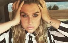 Kesha. Picture: Twitter/@KeshaRose.