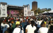 Back to the City celebrations in Newtown on Freedom Day. Picture: Neo Koza/EWN.