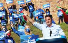 DA leader John Steenhuisen addressed members and supporters at the party's virtual rally that took place on Saturday, 22 May 2021. Picture: Twitter/@Our_DA