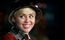 US Pop singer Miley Cyrus. Picture: AFP