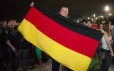 FILE: A German fan flying his country's flag. Picture: Christa Eybers/EWN.
