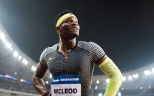 Omar McLeod of Jamaica. Picture: AFP.
