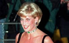 FILE: Diana, Princess of Wales, arrives at the Tate Gallery in London on 1 July 1997 to attend a Centenary gala dinner to celebrate the Tate's 100 years. Picture: PAUL VICENTE/AFP
