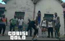 A screenshot of the Gobis'iqolo video.