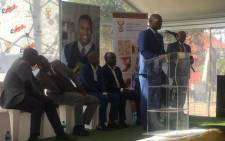Minister Nathi Mthethwa at the launch of Youth Month in Soweto, Orlando West. Picture: Masa Kekana/EWN