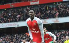 Danny Welbeck, making his first appearance of the season as a late substitute, headed a stoppage-time winner. Picture: Twitter @Arsenal.