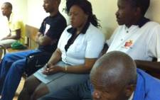 Andries Tatane's widow Rose Malehlohonolo in court. Picture: Rahima Essop/EWN