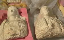 Syrian antiquities are being destroyed during clashes with Isis. Picture: CNN