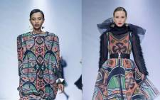 Palesa Mokubung's collection is inspired by the Basotho and Basai people. Picture: palesamokubung/instagram.com
