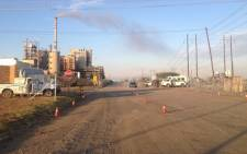 Lonmin's Rowland shaft in the North West Province on the first day of Amcu's strike on the platinum belt. Govan Whittles/EWN.