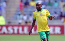 Bafana Bafana's left back Thabo Matlaba. Picture: Safa Facebook page.