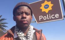 27-year-old Neo Sikhosana alleges that two policemen beat him up before driving around with him for five hours in the back of a police van. Picture: Vumani Mkhize/EWN.