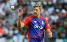 FILE: England's David Willey in action during the T20 cricket match between England and Pakistan at Trent Bridge, Nottingham, England on 16 July 2021. Picture: Lindsey Parnaby/AFP
