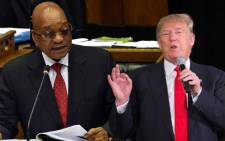 An image of a combination of Jacob Zuma and Donald Trump. Picture: Supplied.
