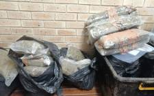 George police confiscated dagga to the value of R570,000 during an operation on 24 December 2020. Picture: SAPS