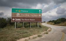 Outside the Ranch Resort in Polokwane, Limpopo. Picture: Abigail Javier/EWN