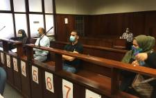 FILE: Four suspects accused of looting R30 million from the KwaZulu-Natal Coastal TVET College appeared in the Durban Specialised Commercial Crimes Court on 31 July 2020. Picture: Nkosikhona Duma/EWN.