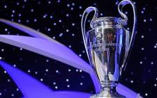 UEFA Champions League trophy. Picture: AFP