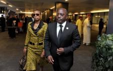 file: Democratic Republic of Congo President Joseph Kabila and his wife. Picture: GCIS.