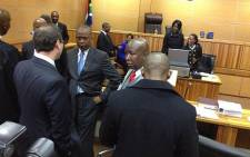 FILE: Julius Malema appears in the Polokwane Magistrates Court on 20 June 2013. Picture: Barry Bateman/EWN.