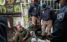 The protests spiralled off from KwaZulu-Natal into parts of Gauteng for the better part of 11 July 2021. Picture: Boikhutso Ntsoko/ Eyewitness News.