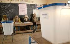 FILE: Electoral officials at a polling station in Kidal, northern Mali. Picture: United Nations Photo