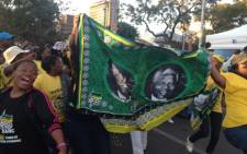 ANC marching for madiba. Picture:Christa Van der Walt/EWN