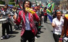 Capetonians celebrate Reconciliation Day with a Reconciliation march down the Cape Town Stadium fan walk on Somerset Road in Greenpoint on 16 December 2013. Picture: Lauren Isaacs