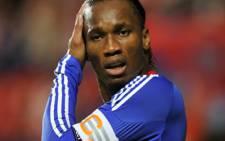 Chelsea's Ivory Coast striker Didier Drogba. Picture: AFP