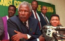 FILE: PAC President Clarence Makwetu (left) in January 1994. Picture: AFP