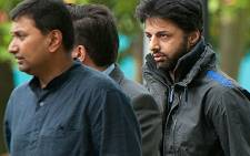 Murder accused Shrien Dewani arrives at the Belmarsh Magistrates Court in London on 10 August 2011. Picture: AFP